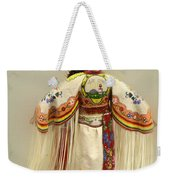 Pow Wow Traditional Dancer 3 Weekender Tote Bag
