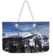 Powder Day On The Pass Weekender Tote Bag
