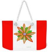 Power Flower Weekender Tote Bag