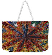 Power Flower Weekender Tote Bag