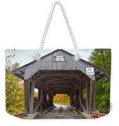 Power House Covered Bridge Weekender Tote Bag