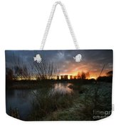 Power Plant Sunrise 1.0 Weekender Tote Bag