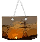 Power To The People Weekender Tote Bag
