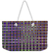 Power Tower And Agave Checkerboard Abstract Weekender Tote Bag