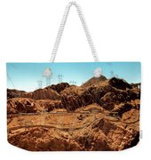 Power Transport From Hoover Dam Weekender Tote Bag
