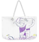 Powerful Appreciates The Small Weekender Tote Bag