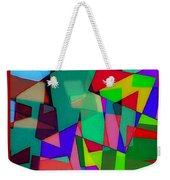 Powerful Types Of Beliefs In Broken Fragments/tonyadamo Weekender Tote Bag