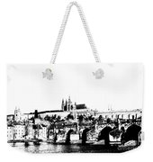 Prague Castle And Charles Bridge Weekender Tote Bag