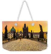 Prague - Charles Bridge - Czech Republic Weekender Tote Bag