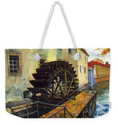 Prague Chertovka Weekender Tote Bag