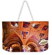 Prague Church Ceiling Weekender Tote Bag