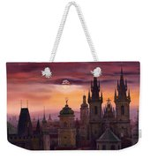 Prague City Of Hundres Spiers Weekender Tote Bag