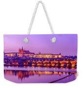 Prague Fairytale Weekender Tote Bag by Dmytro Korol