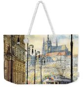 Prague Kaprova Street Weekender Tote Bag