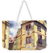 Prague Karlova Street Hotel U Zlate Studny Weekender Tote Bag