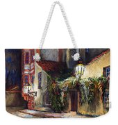 Prague Novy Svet Kapucinska Str Weekender Tote Bag