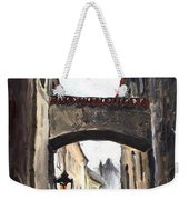Prague Old Street 02 Weekender Tote Bag