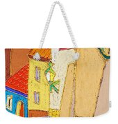 Prague Old Street Ceminska Novy Svet Weekender Tote Bag