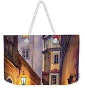 Prague Old Street  Weekender Tote Bag