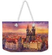 Prague Old Town Square 02 Weekender Tote Bag