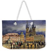 Prague Old Town Squere After Rain Weekender Tote Bag