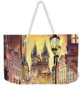Prague Old Town Squere Weekender Tote Bag