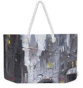 Prague Old Tram 03 Weekender Tote Bag