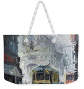Prague Old Tram 04 Weekender Tote Bag