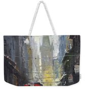 Prague Old Tram 05 Weekender Tote Bag