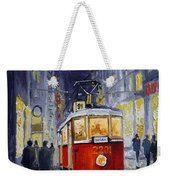 Prague Old Tram 06 Weekender Tote Bag