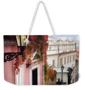 Prague Stairs Weekender Tote Bag
