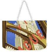 Prague Travel Poster Weekender Tote Bag