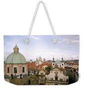 Prague Twilight Weekender Tote Bag