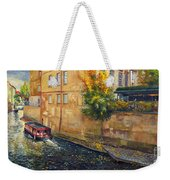 Prague Venice Chertovka 2 Weekender Tote Bag