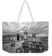 Prague View From The Top Weekender Tote Bag