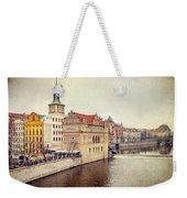 Prague View Weekender Tote Bag