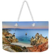 Praia Do Camilo At Sunset  Weekender Tote Bag