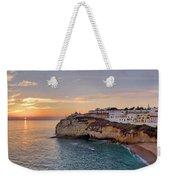 Praia Do Carvoeiro Sunset Weekender Tote Bag