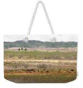Prairie Bison Weekender Tote Bag