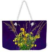 Prairie Bouquet Weekender Tote Bag