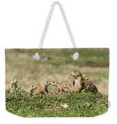 Prairie Dog Family 7270 Weekender Tote Bag