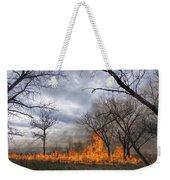 Prairie Fire Weekender Tote Bag