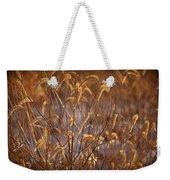 Prairie Grass Blades Weekender Tote Bag