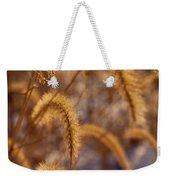 Prairie Grass Detail Weekender Tote Bag