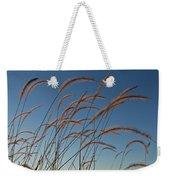 Prairie Grass Landscape Weekender Tote Bag