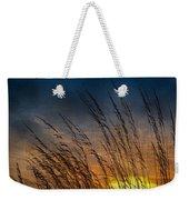 Prairie Grass Sunset Patterns Weekender Tote Bag