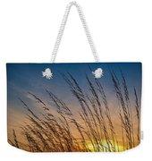 Prairie Grass Sunset Weekender Tote Bag