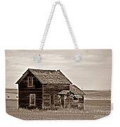 Prairie Home Sepia Weekender Tote Bag