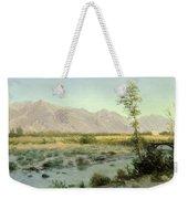 Prairie Landscape Weekender Tote Bag