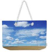 Prairie Landscape Alberta Canada Weekender Tote Bag